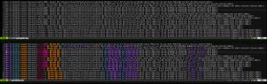 Vim syntax highlighting for firewall logs.